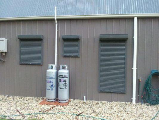 window roller shutters BAL40