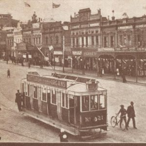 Ballarat Trams in sturt st